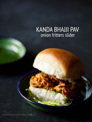 kanda bhajji pav recipe