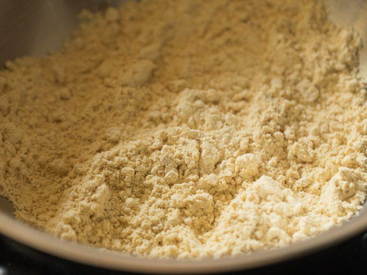 besan for making palak kofta recipe