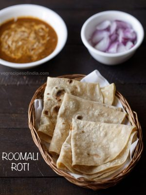 rumali roti recipe, how to make rumali roti | roomali roti