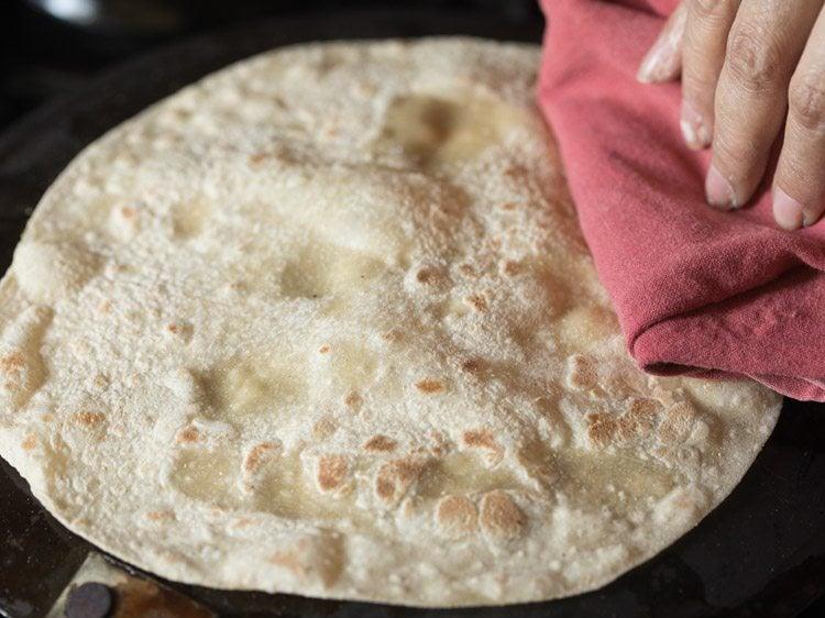 making roomali roti recipe