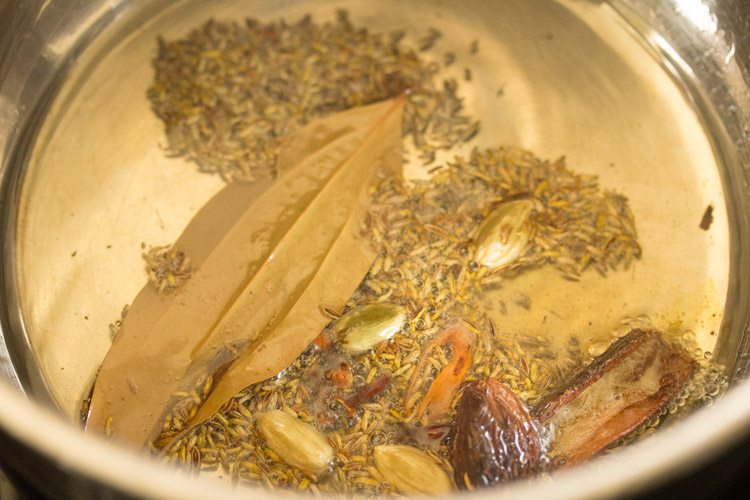 making shahi pulao recipe