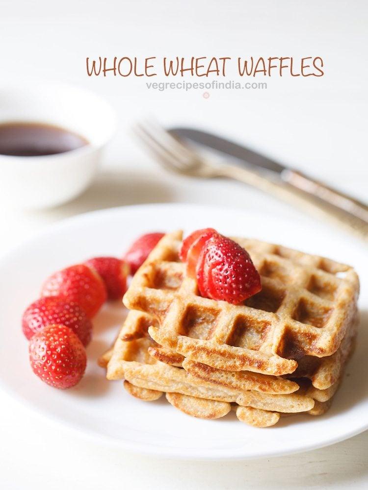whole wheat waffle recipe