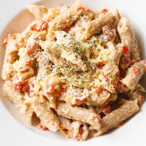 pasta in alfredo sauce recipe, alfredo sauce pasta recipe, veggie alfredo pasta recipe