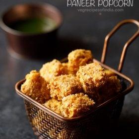 paneer popcorn recipe