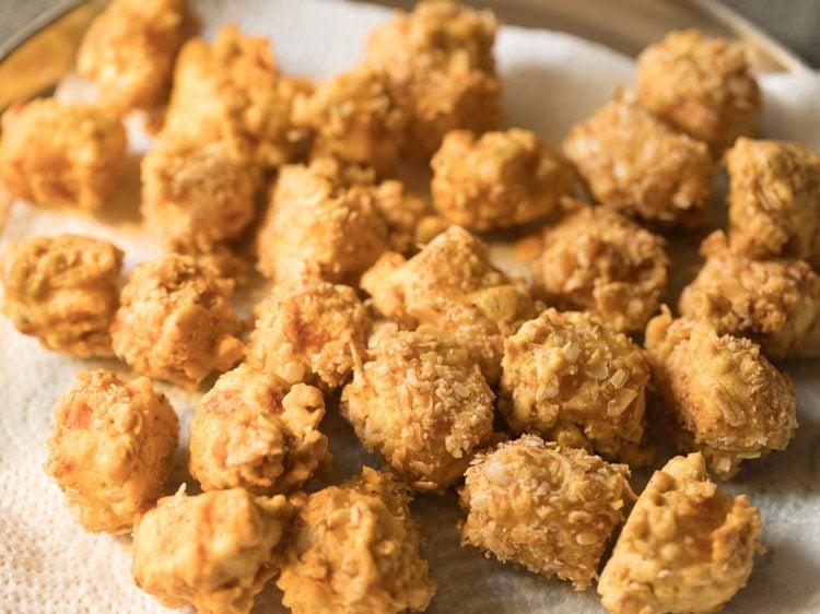 paneer popcorn recipe, paneer nuggets recipe