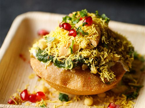 raj kachori chaat recipe