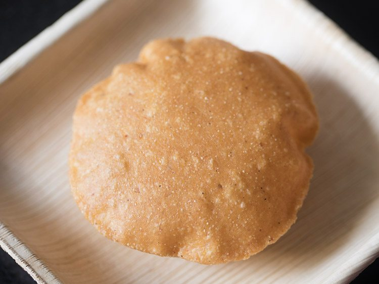 making raj kachori chaat recipe