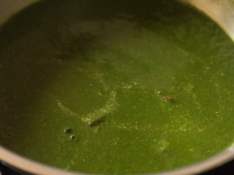 making methi chaman recipe