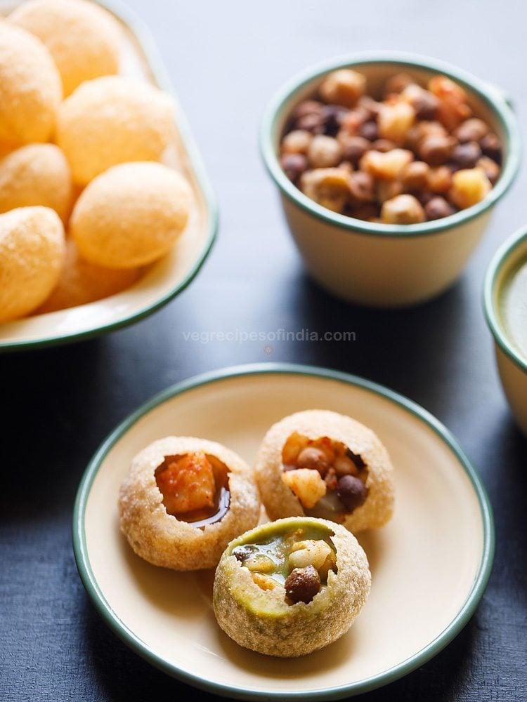 delhi style golgappa recipe