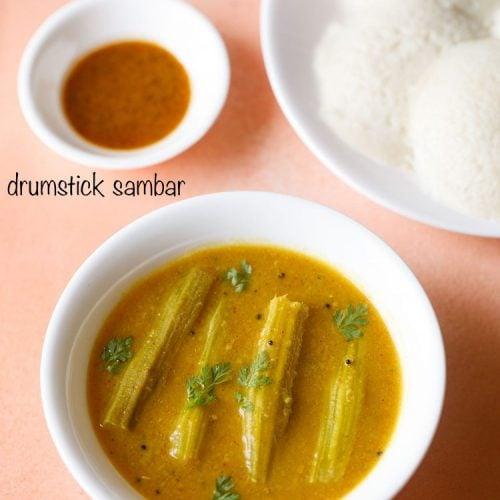 drumstick sambar recipe, murungakkai sambar recipe