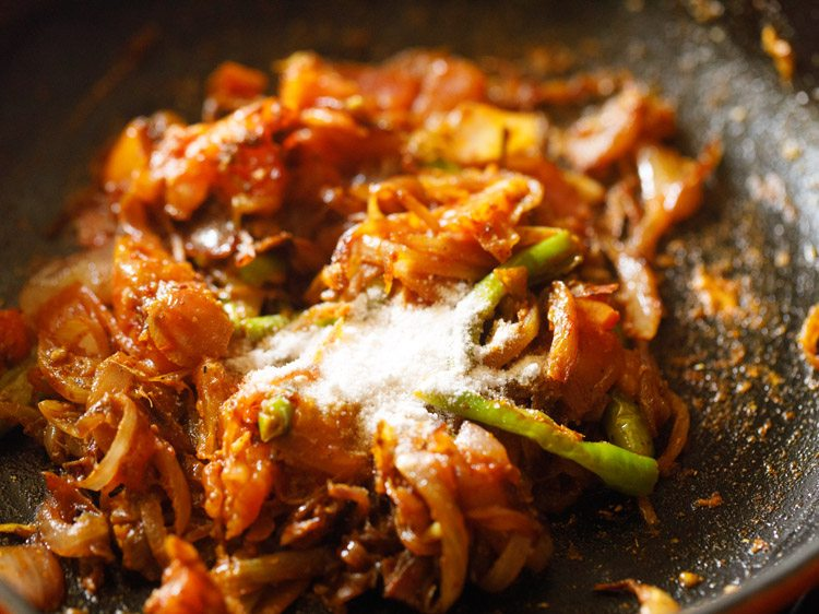 making paneer fry recipe