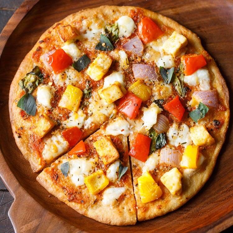 paneer pizza recipe
