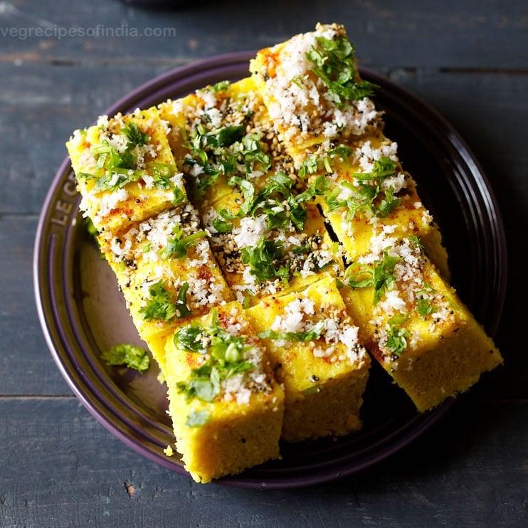 Dhokla Recipe How To Make Dhokla Recipe Traditional Fermented Dhokla Recipe