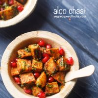 aloo chaat recipe, how to make quick aloo chaat recipe