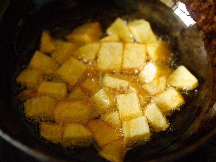 potatoes to make aloo chaat recipe