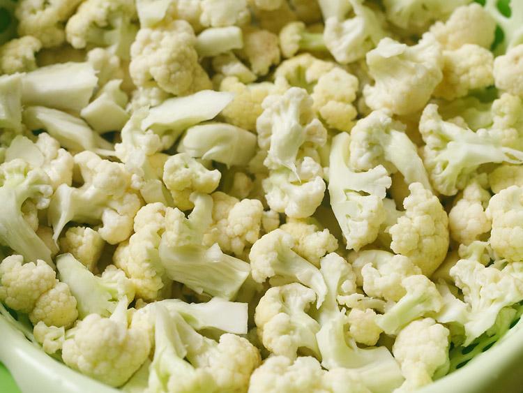 cauliflower to make cauliflower fry recipe