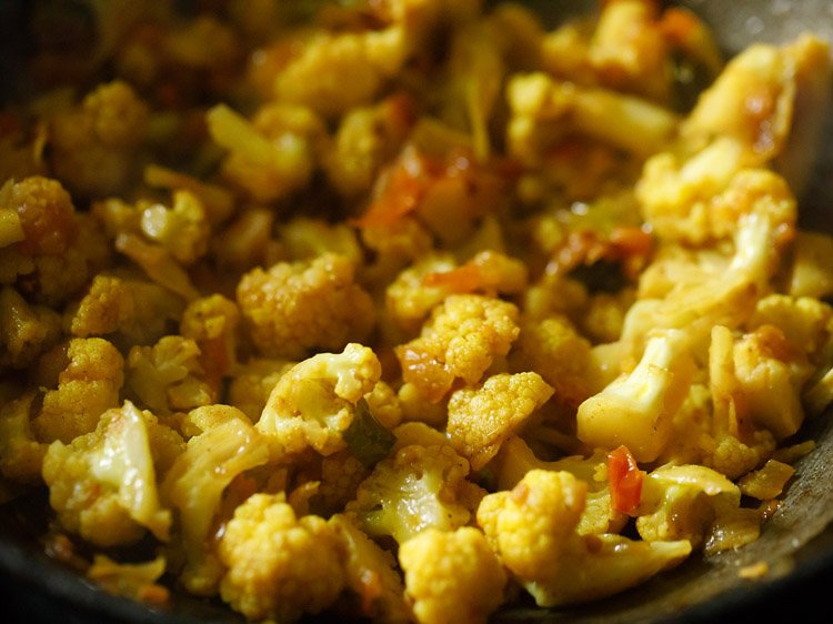 cauliflower fry recipe
