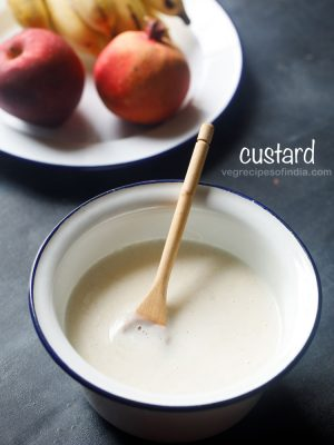 custard recipe