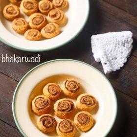 bhakarwadi recipe, how to make making bhakarwadi recipe, bakarwadi recipe