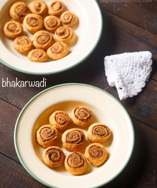 bhakarwadi recipe, how to make bhakarwadi | bakarwadi recipe