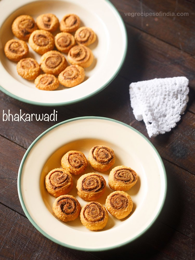 bhakarwadi recipe, how to make making bhakarwadi recipe, bakarwadi recipe