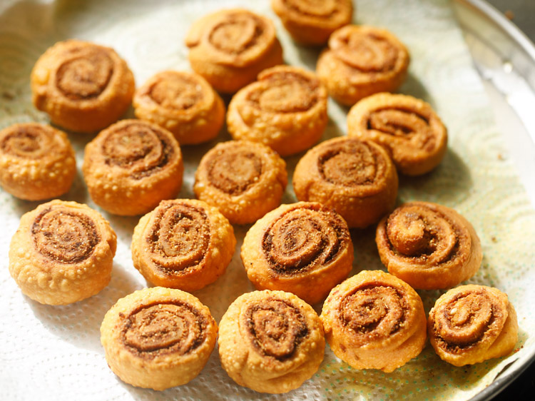 bhakarwadi recipe, bakarwadi recipe, how to make making bhakarwadi recipe
