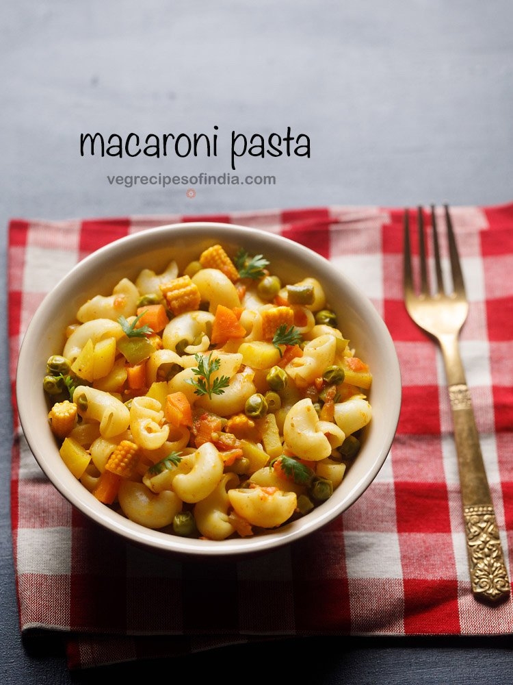 macaroni recipe indian style