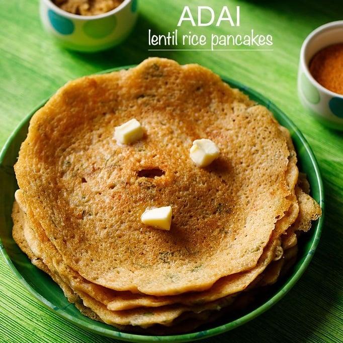 adai recipe, how to make adai recipe, adai dosa recipe