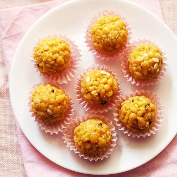 Boondi Ladoo Recipe How To Make Boondi Laddu Boondi Ke Ladoo
