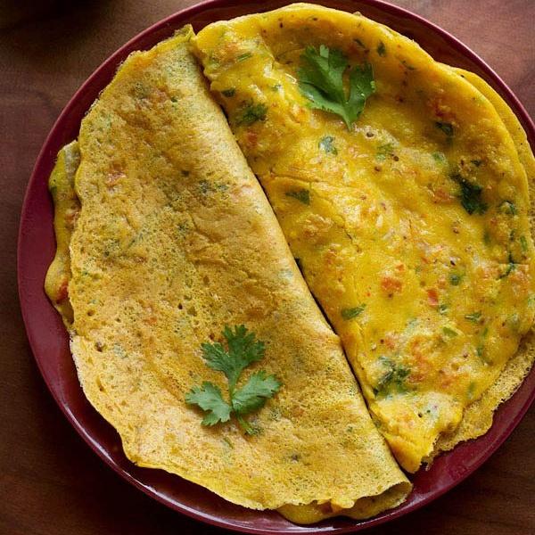 besan chilla recipe, how to make chilla recipe | besan cheela recipe