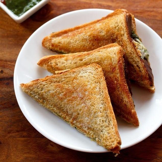 chilli cheese sandwich