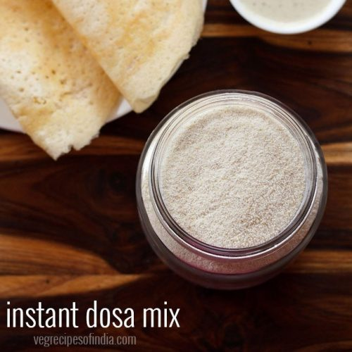 instant dosa mix recipe