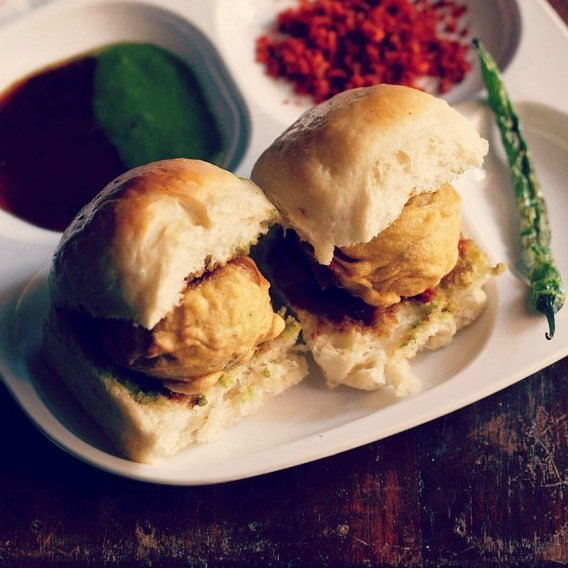 Image result for vada pav