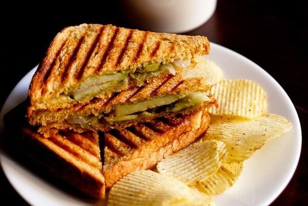 Grilled Sandwich Street Style Veg Grilled Sandwich Dassana S Veg Recipes
