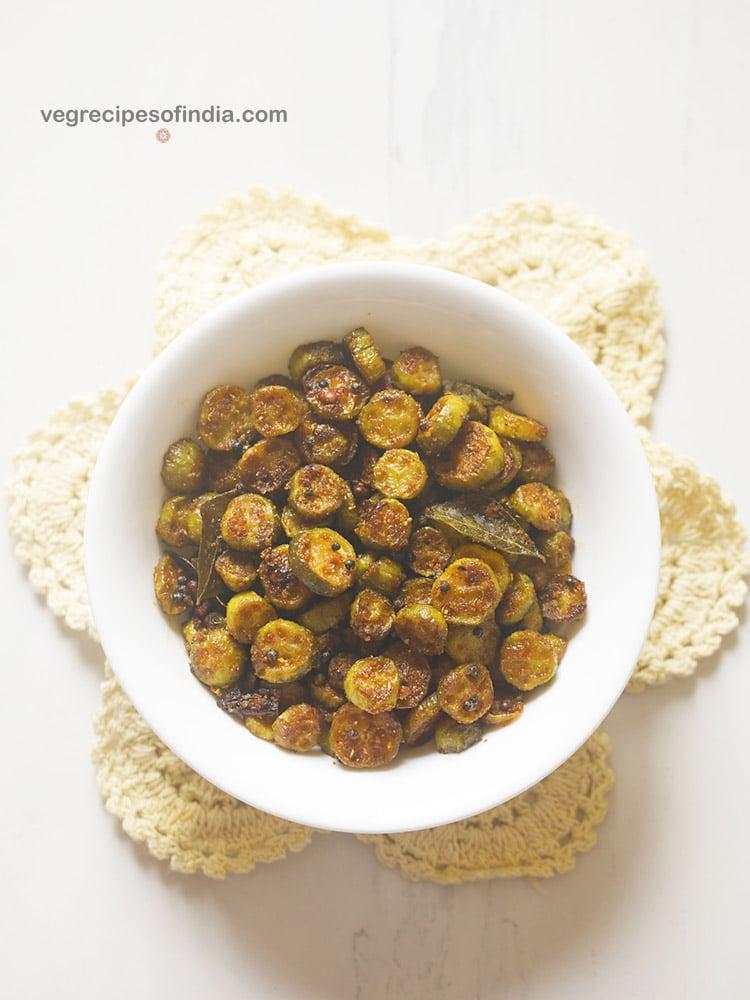 kovakkai poriyal recipe, ivy gourd stir fry