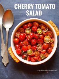 cherry tomato salad recipe, how to make cherry tomato salad