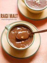 ragi malt recipe | ragi porridge recipe | ragi java