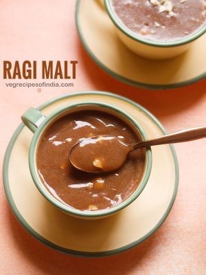 ragi malt recipe | ragi porridge recipe | ragi java