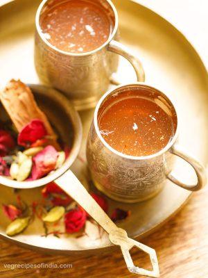 kahwa | kashmiri kahwa | how to make kahwa tea