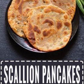scallion pancakes recipe, green onion pancake