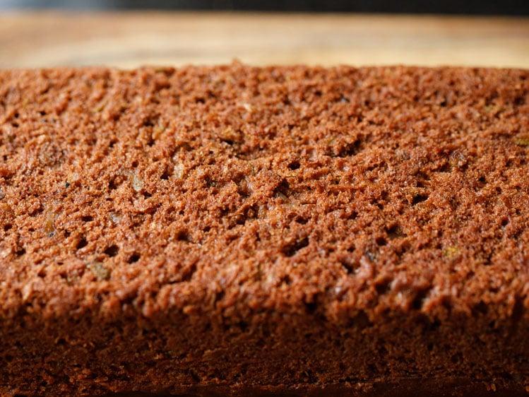 texture of chocolate zucchini bread