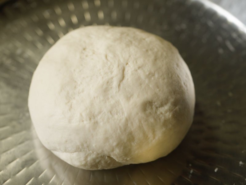 smooth soft dough formed to make bread recipe