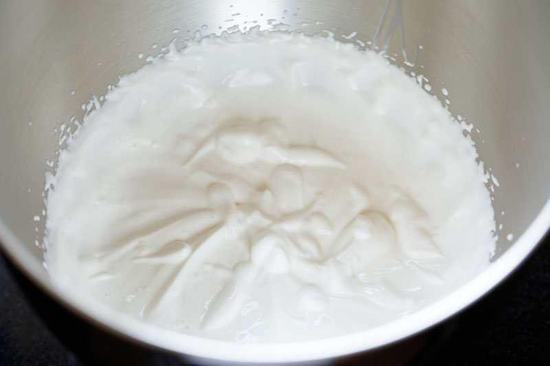 whipped cream for strawberry shortcakes