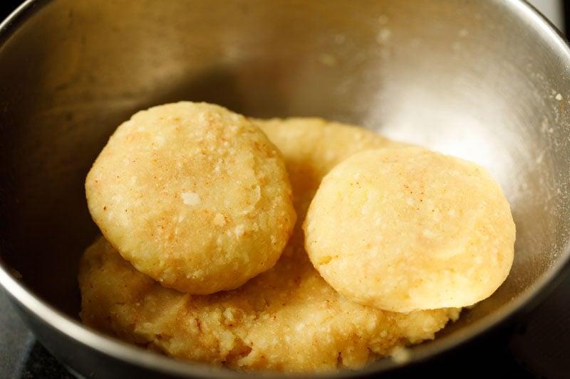 make potato patties