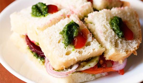 Sandwich Recipe (Bombay Veg Sandwich)